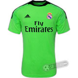 Camisa Real Madrid - Goleiro