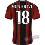 Camisa Milan - Modelo I - MONTOLIVO #18