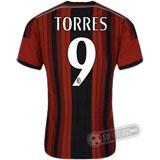 Camisa Milan - Modelo I - TORRES #9