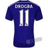 Camisa Chelsea - Modelo I - DROGBA #11