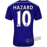 Camisa Chelsea - Modelo I - HAZARD #10