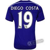 Camisa Chelsea - Modelo I - DIEGO COSTA #19
