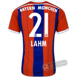Camisa Bayern München - Modelo I - LAHM #21