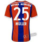 Camisa Bayern München - Modelo I - MÜLLER #25
