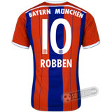 Camisa Bayern München - Modelo I - ROBBEN #10