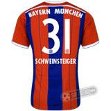 Camisa Bayern München - Modelo I - SCHWEINSTEIGER #31