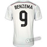 Camisa Real Madrid - Modelo I - BENZEMA #9