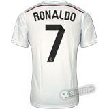 Camisa Real Madrid - Modelo I - RONALDO #7