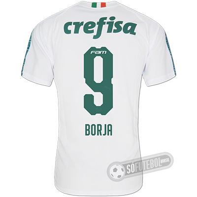 ad2520d349 Camisa Palmeiras - Modelo II (BORJA #9)