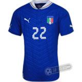 Camisa Itália - Modelo I - ROSSI #22