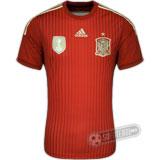 Camisa Espanha Authentic - Modelo I