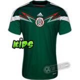 Camisa México - Modelo I - Infantil