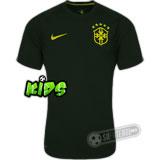 Camisa Brasil - Modelo III - Infantil