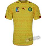 Camisa Camarões - Modelo II