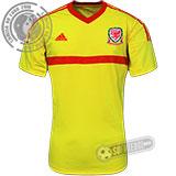 Camisa País de Gales - Modelo II