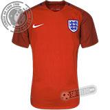 Camisa Inglaterra - Modelo II