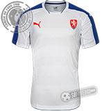 Camisa República Tcheca - Modelo II (Jogador)