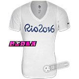 T-Shirt Nike Rio 2016 - Feminina