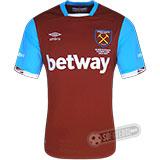 Camisa West Ham - Modelo I