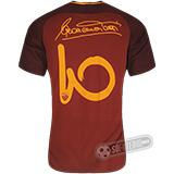 Camisa Roma - Modelo I (TOTTI #10 Assinatura)