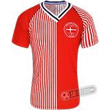 Camisa Dinamarca 1986 - Modelo I