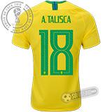Camisa Brasil - Modelo I (A. TALISCA #18)