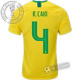 Camisa Brasil - Modelo I (R. CAIO #4)