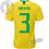 Camisa Brasil - Modelo I (MIRANDA #3)