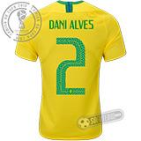 Camisa Brasil - Modelo I (DANI ALVES #2)