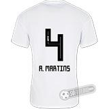 Camisa São Paulo - Modelo I (A. MARTINS #4)