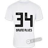 Camisa São Paulo - Modelo I (BRUNO ALVES #34)