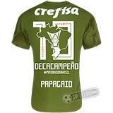 Camisa Palmeiras Edição Limitada (PAPAGAIO) - Decacampeão Brasileiro