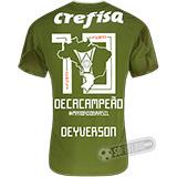 Camisa Palmeiras Edição Limitada (DEYVERSON) - Decacampeão Brasileiro