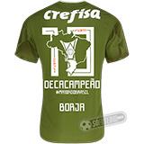 Camisa Palmeiras Edição Limitada (BORJA) - Decacampeão Brasileiro