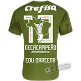 Camisa Palmeiras Edição Limitada (EDU DRACENA) - Decacampeão Brasileiro