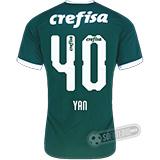 Camisa Palmeiras - Modelo I (YAN #40)