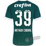 Camisa Palmeiras - Modelo I (ARTHUR CABRAL #39)