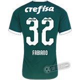 Camisa Palmeiras - Modelo I (FABIANO #32)