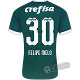 Camisa Palmeiras - Modelo I (FELIPE MELO #30)