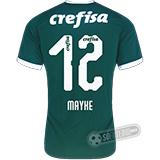 Camisa Palmeiras - Modelo I (MAYKE #12)