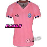 Camisa Grêmio - Modelo Outubro Rosa - Feminina