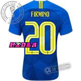 Camisa Brasil - Modelo II Feminina (FIRMINO #20)