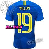 Camisa Brasil - Modelo II Feminina (WILLIAN #19)