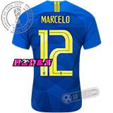 Camisa Brasil - Modelo II Feminina (MARCELO #12)