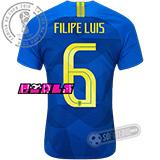 Camisa Brasil - Modelo II Feminina (FILIPE LUIS #6)