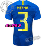 Camisa Brasil - Modelo II Feminina (MIRANDA #3)