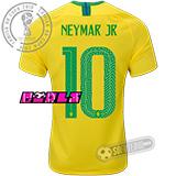 Camisa Brasil - Modelo I Feminina (NEYMAR JR #10)