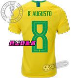 Camisa Brasil - Modelo I Feminina (R. AUGUSTO #8)