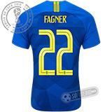 Camisa Brasil - Modelo II (FAGNER #22)