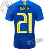 Camisa Brasil - Modelo II (TAISON #21)
